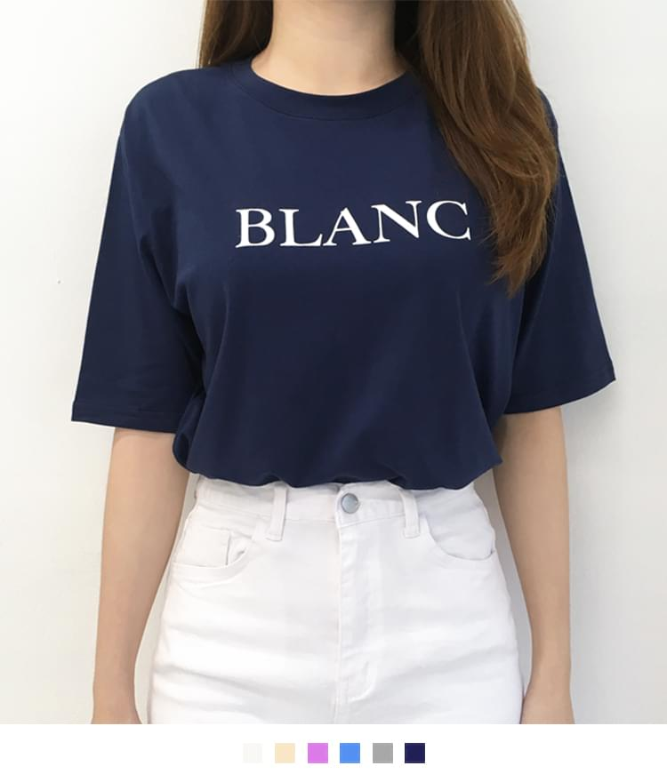 Color Blanc T-shirt 短袖上衣