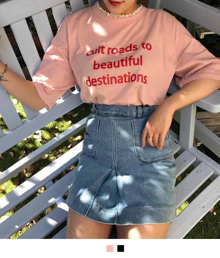 뷰티 레이스 티셔츠