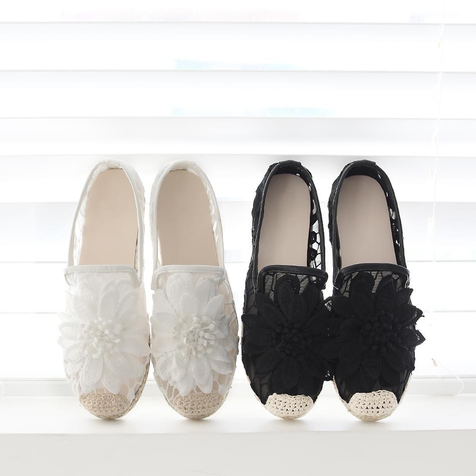Victory S-Poodle Flat Shoes 2cm