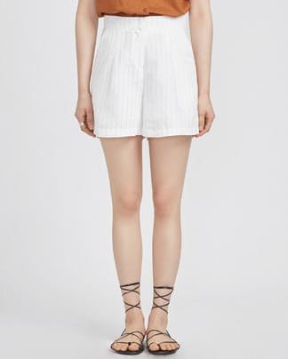 linen stripe highwaist pants (2 colors)