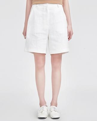 boy linen half pants (3 colors)
