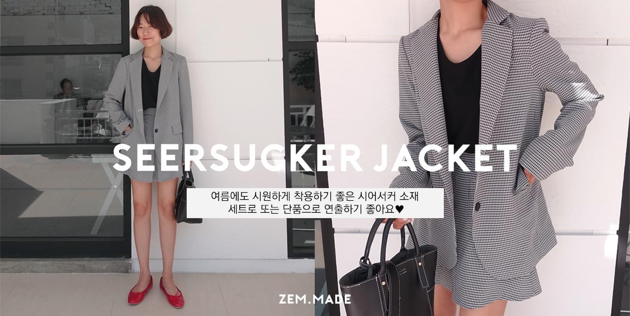 Charlie-seersucker jacket