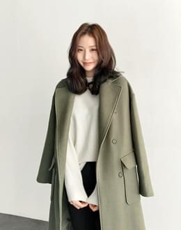 베이글 울 coat (*3color) #당일배송