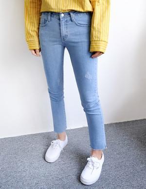 Lowered Slim Date Pants