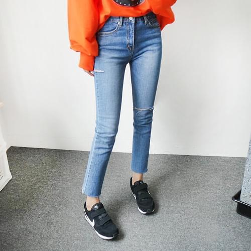 Non-cut imitation pants