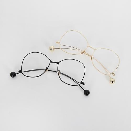 Down curve ball glasses