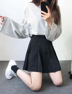 Pinggirl pleated skirt