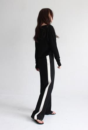 Side line long slacks
