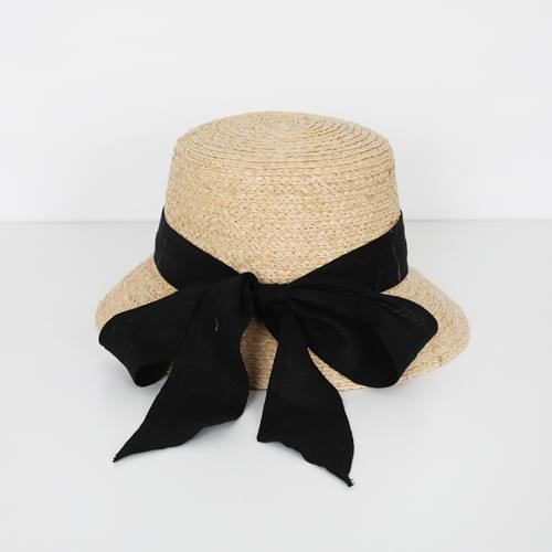 Audrey Ribbon Straw Hat