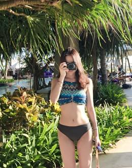 Ethnic Holter bikini