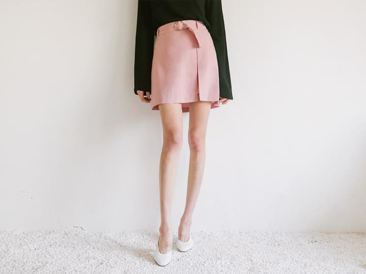 O RING BELT WRAP SKIRT