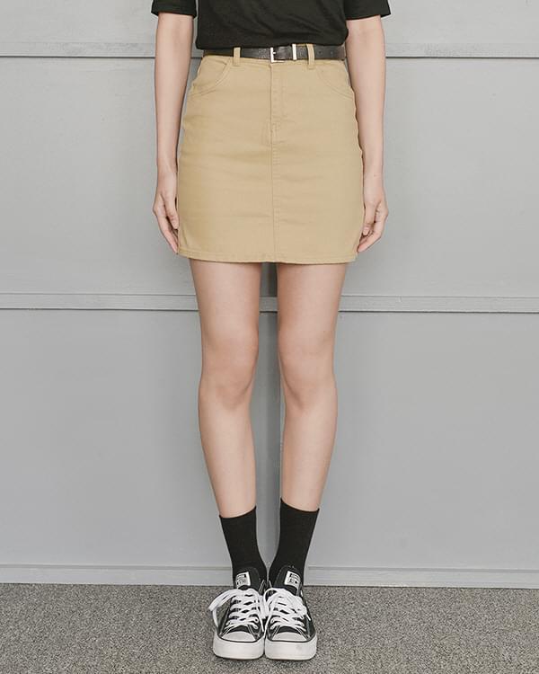 Disco Cotton Skirt