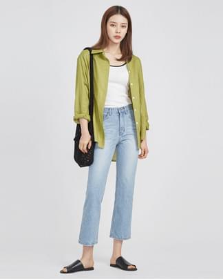 charming color linen shirts (3 colors)