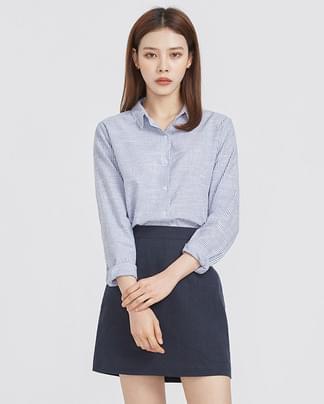 stripe cozy fit basic shirts (2 colors)