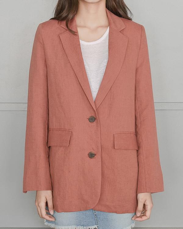 Formal linen jacket