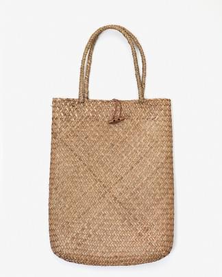 summer rectangle straw bag