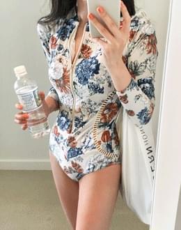 플로바이 swim suit (*2color)