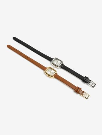 classic thin string watch
