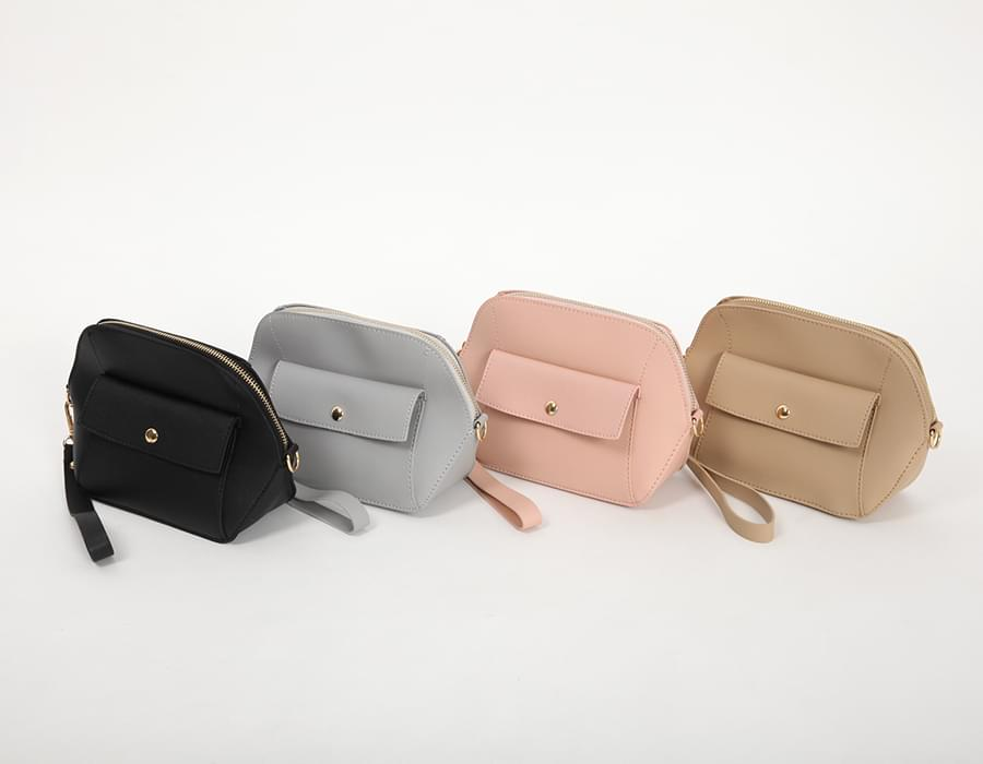 Strap mini pouch bag_S (size : one)