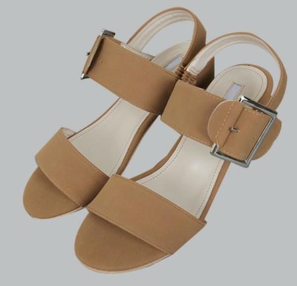Tighten-middle heel