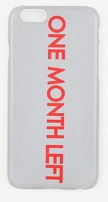 one month left case (3 colors)