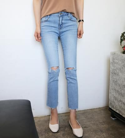 Selling slim pants cuts - L size ships same day