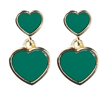 Toy heart earring