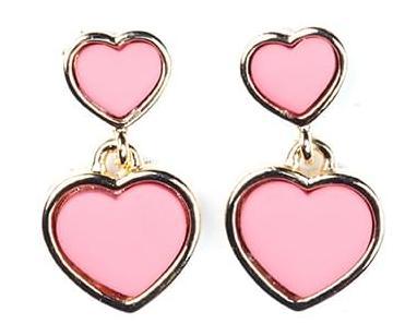 Toy heart earring