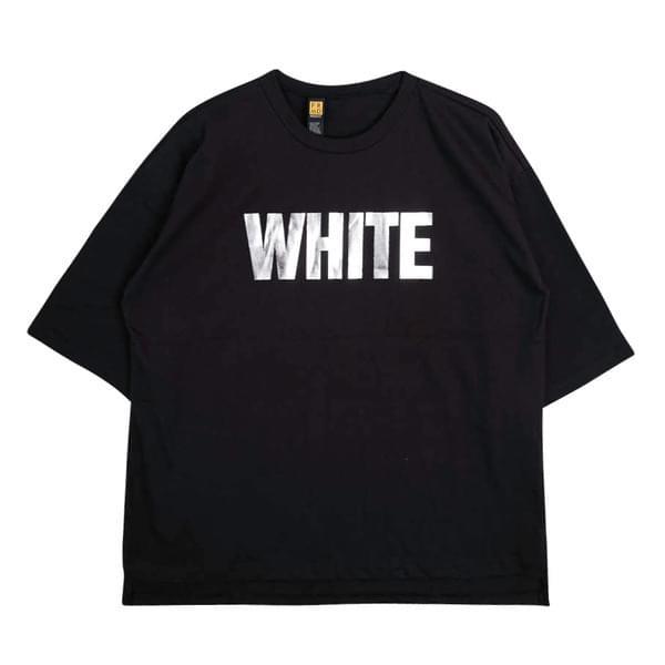 WHITE short sleeve tee
