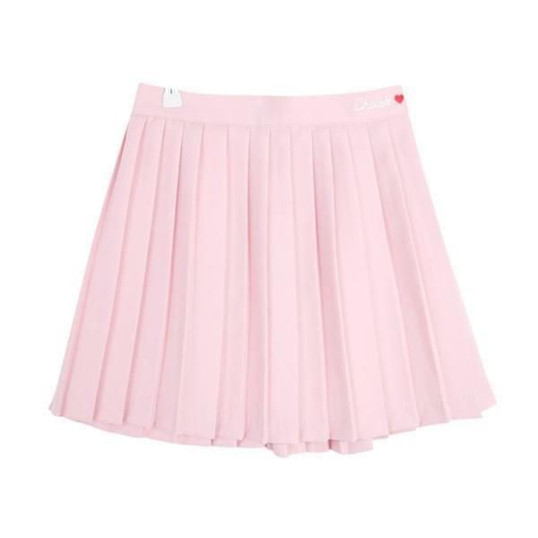 Heart Tennis Skirt