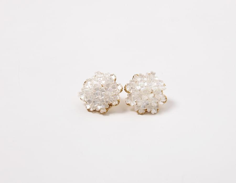 Ophelia floret earring_K (size : one)