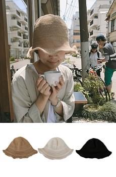 Basic straw hat
