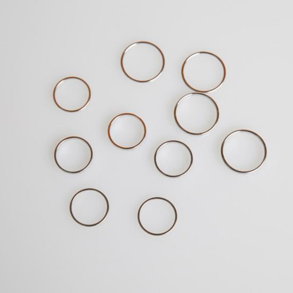 Layering thread ring