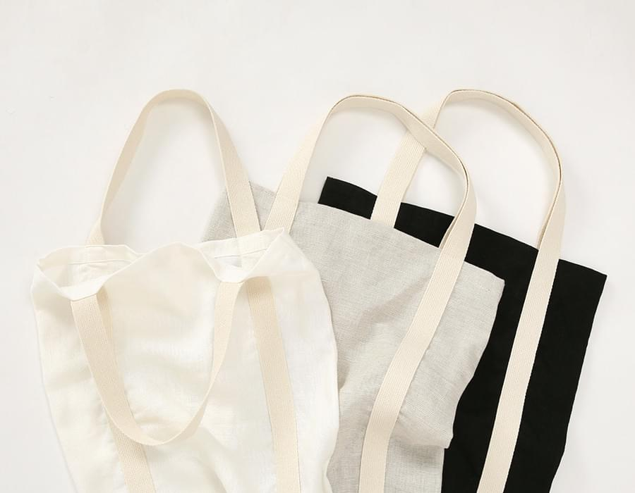Organic linen eco bag_K(size : one)