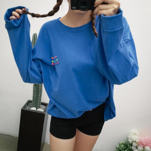 옷핀 맨투맨 (t3042)