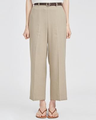 wanna be belt set crop slacks (4 colors)