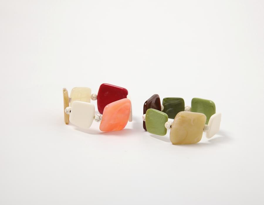 Cabinet piece string bracelet_S (size : one)