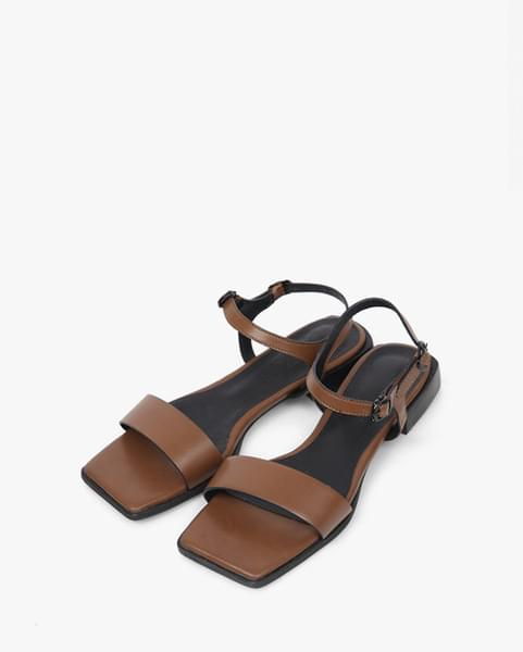 square sole sandal (2 colors)