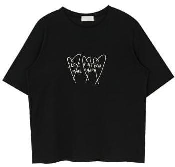 하트만땅 티셔츠