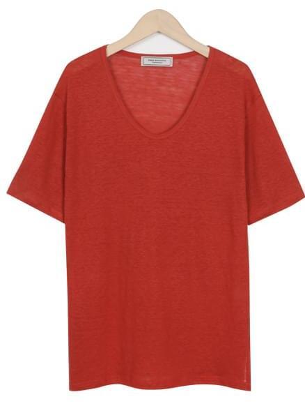 Made_top-170_summer linen T (size : free)