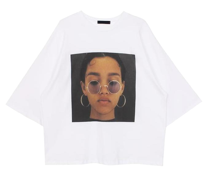 Sunglass boxy tee (2color)