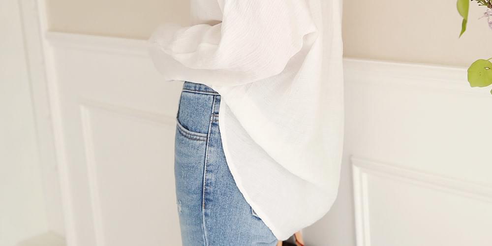 베이식 코튼 shirt