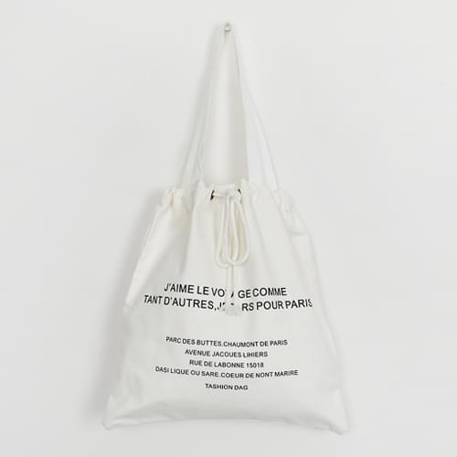 Pure cooking canvas bag