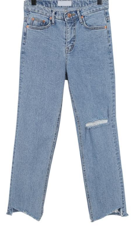 Curtain damage boy denim_B (size : S,M,L)