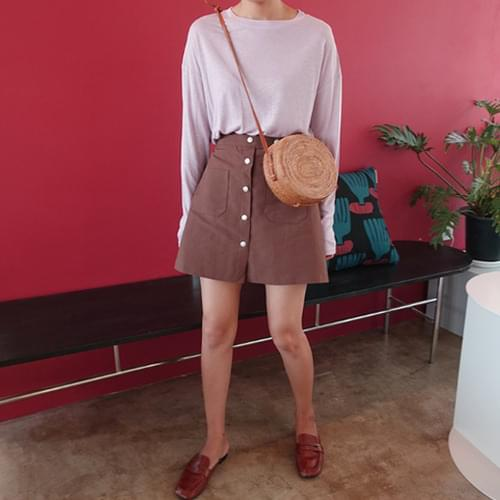 Brownie-A lined skirt