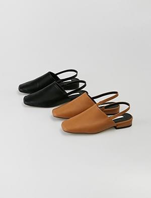minimal sling back loafer