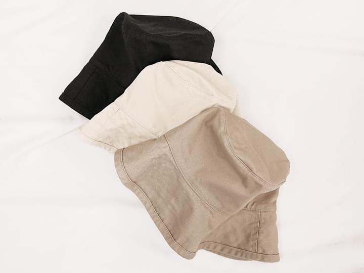 COTTON BIG BUCKET HAT