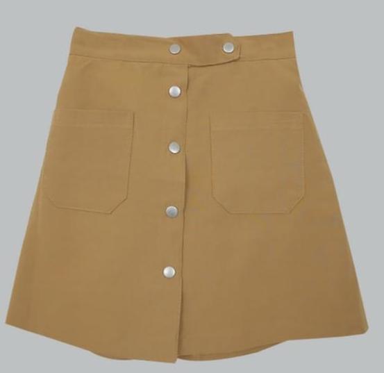 Brownie-A line skirt