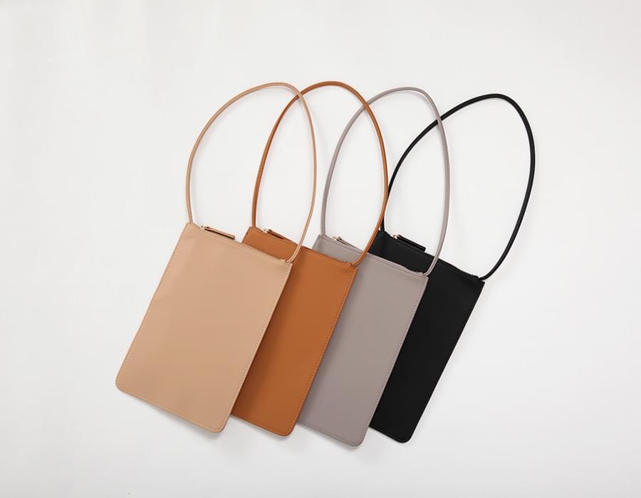 Scarf flat mini bag_K (size : one)