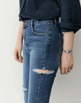르에 슬릿 pants